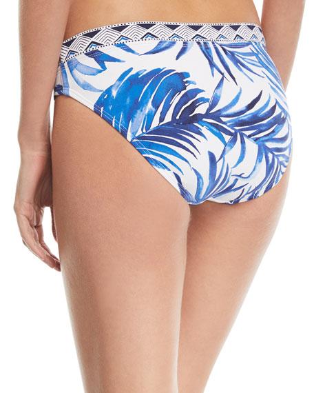 Banded Hipster Printed Swim Bikini Bottoms