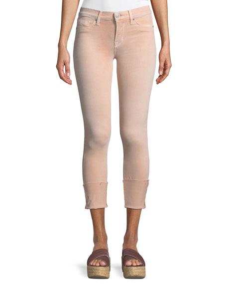 Tally Mid-Rise Crop Skinny-Leg Jeans
