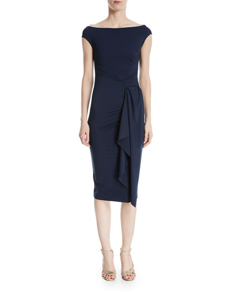 Chiara Boni La Petite Robe Aletha Side-Wrap Sheath