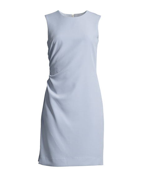 Sherry Sleeveless Ruched Mini Dress
