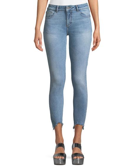 DL1961 Premium Denim Margaux Instasculpt Skinny-Leg Ankle Jeans