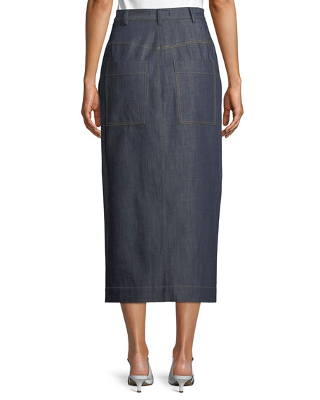 Jamie Straight Jeans Long Skirt