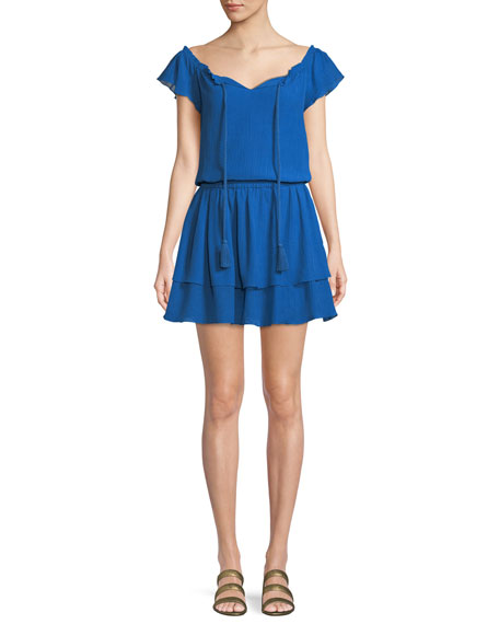 Kobi Halperin Darcie Ruffled Mini Dress
