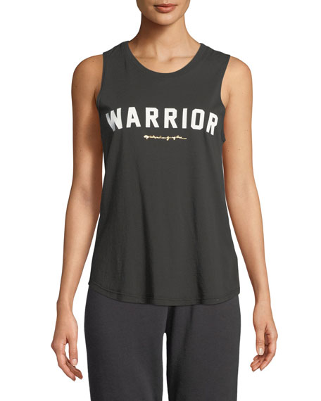 Warrior Crewneck Muscle Tank