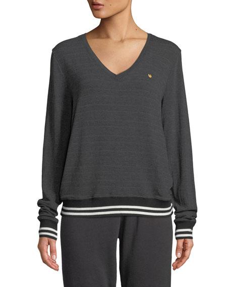 Savasana In Love We Trust V-Neck Sweater
