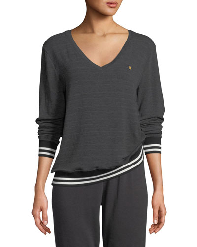 Savasana In Love We Trust V-Neck Sweater