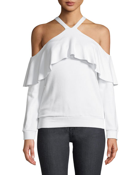 Bailey 44 Window Shop Cold-Shoulder Knit Top