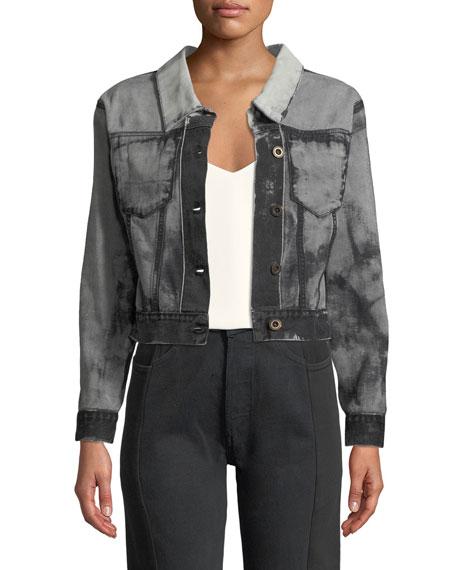 Gradient Backward & Inside Out Jacket