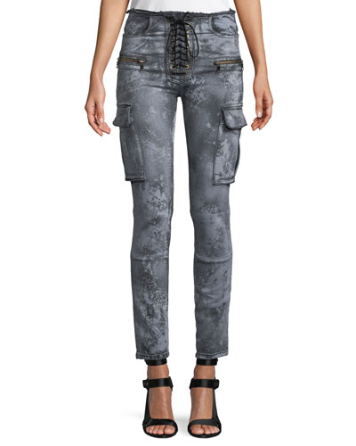 Cloudy Basic Cargo Skinny Jeans