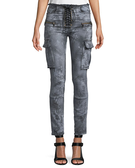 Cloudy Basic Cargo Skinny Jeans
