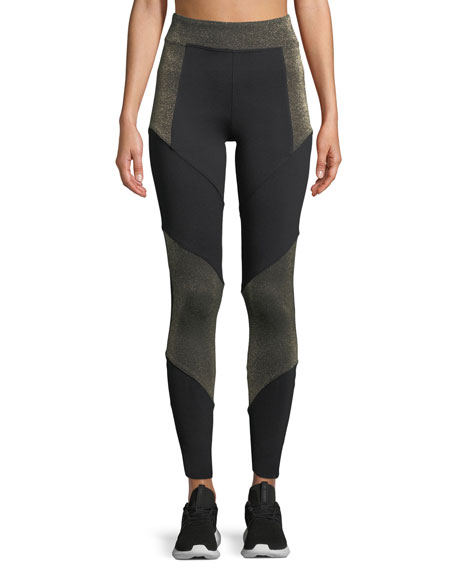 KORAL Versus Full-Length Performance Leggings in Black