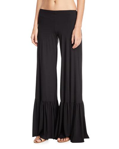 Linnea Wide-Leg Coverup Pants