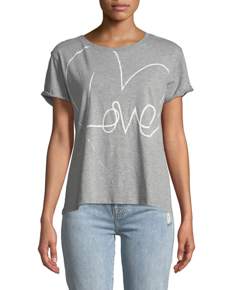 Sterling Love Crewneck Short-Sleeve Tee