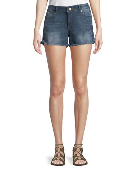 Karlie Cutoff Denim Jean Shorts