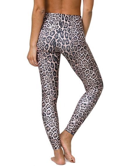 High-Rise Leggings, Leopard