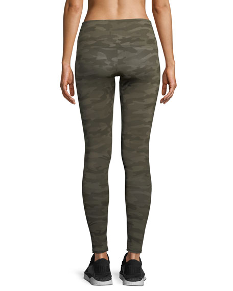 High-Rise Leggings, Camo