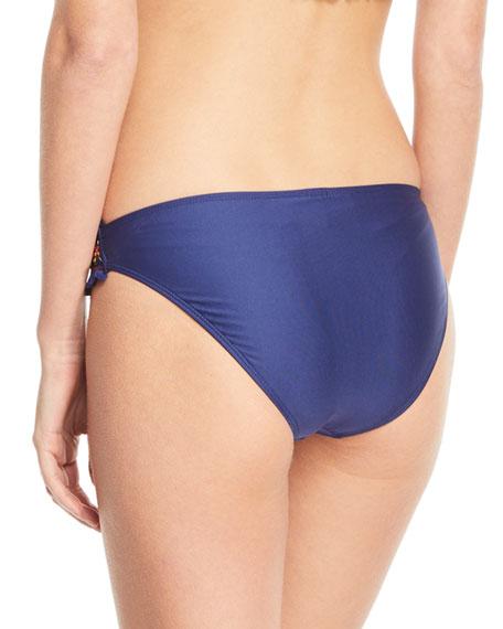 Frill Seeker Tab-Side Swim Bikini Bottoms