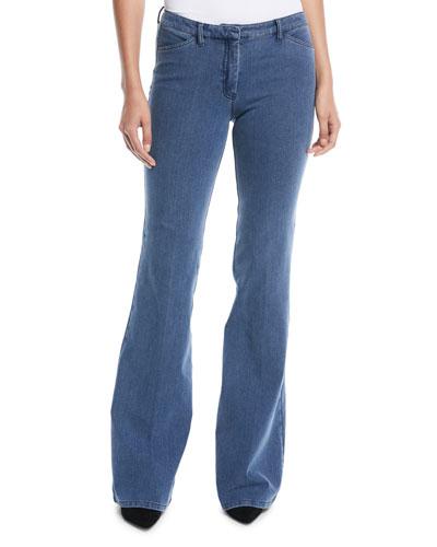 Demitria 2 D Movement Flare Denim Jeans