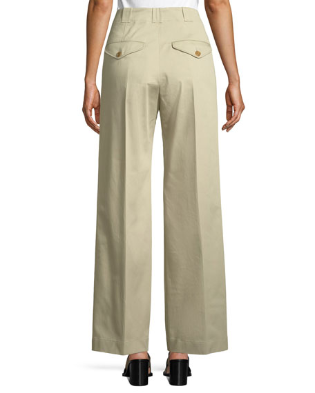 Eastcote High-Waist Wide-Leg Trousers