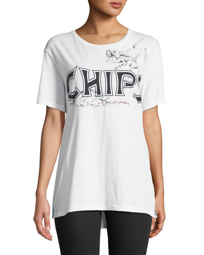Chips Graphic Short-Sleeve Tee