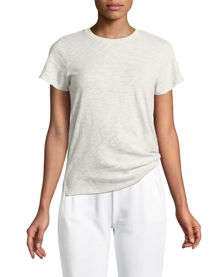 ATM Anthony Thomas Melillo Cotton Schoolboy Crewneck Tee