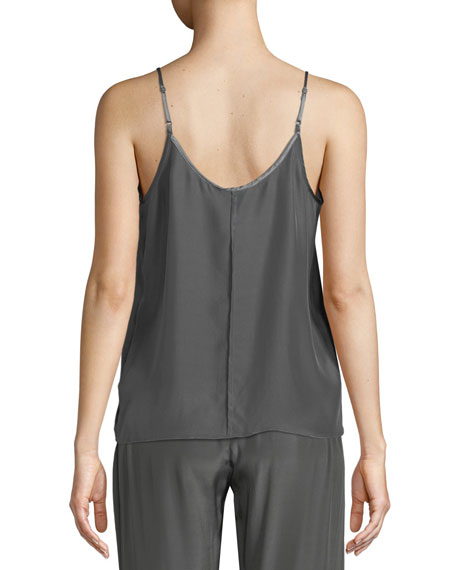 Scoop-Neck Silk Camisole