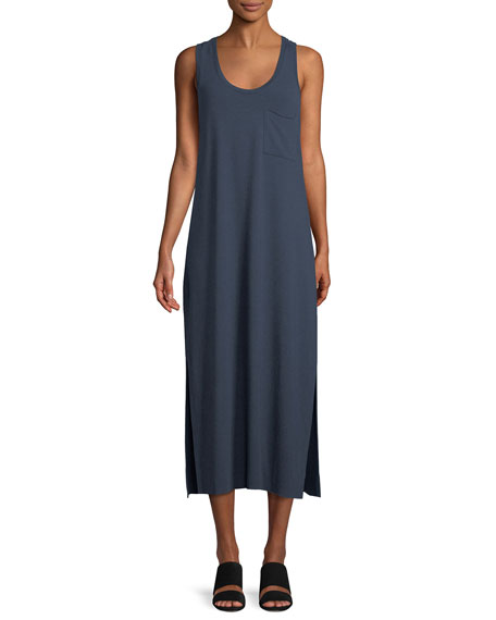 ATM Anthony Thomas Melillo Scoop-Neck Racerback Sleeveless Knit