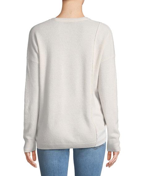 Crewneck Cashmere Schoolboy Sweater