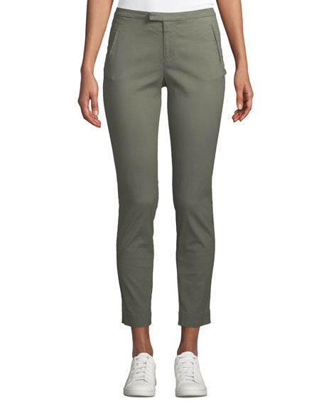 ATM Anthony Thomas Melillo Enzyme Washed Slim Straight-Leg