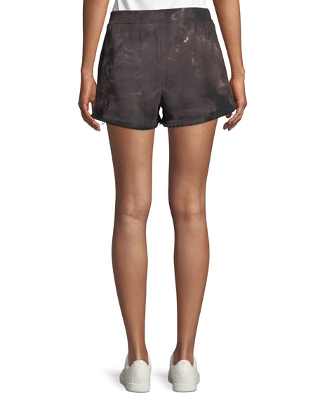 French-Terry Tie-Dye Shorts