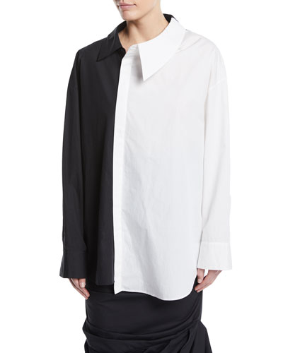 Two-Tone Double Shirt
