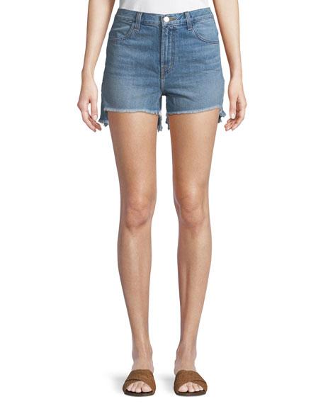 Joan High-Rise Denim Shorts