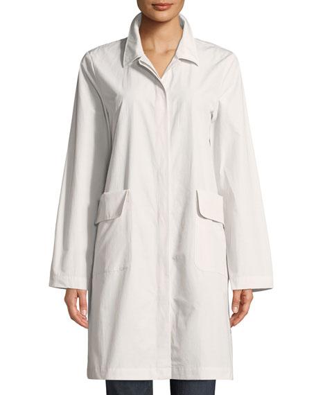 Organic Cotton-Blend Jacket