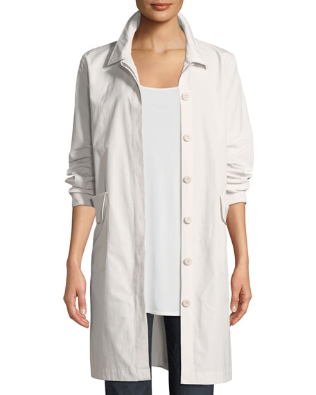 Eileen Fisher Organic Cotton-Blend Jacket and Matching Items