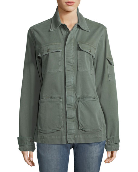 Le Slouchy Utility Jacket