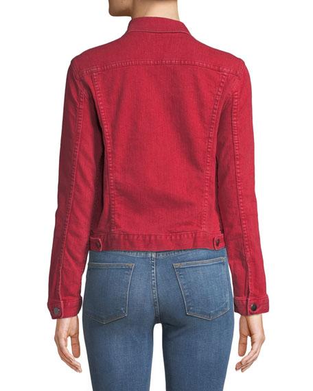 Le Vintage Button-Down Denim Jacket