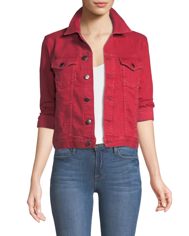 b7ec5e48fd6 FRAME Le Vintage Button-Down Denim Jacket