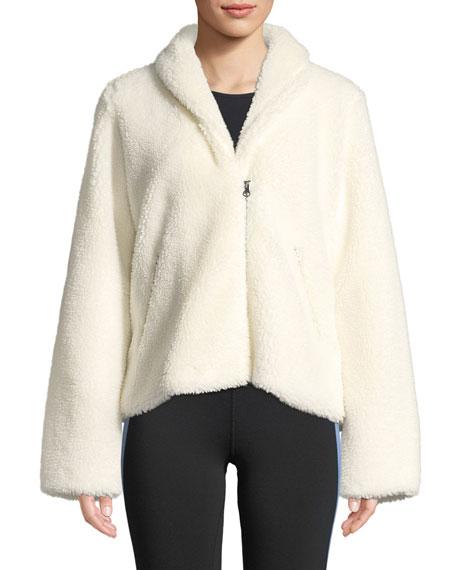 Cozy-Up Zip-Front Jacket