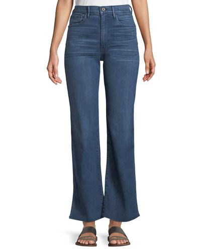 W4 Adeline Split-Flare Jeans