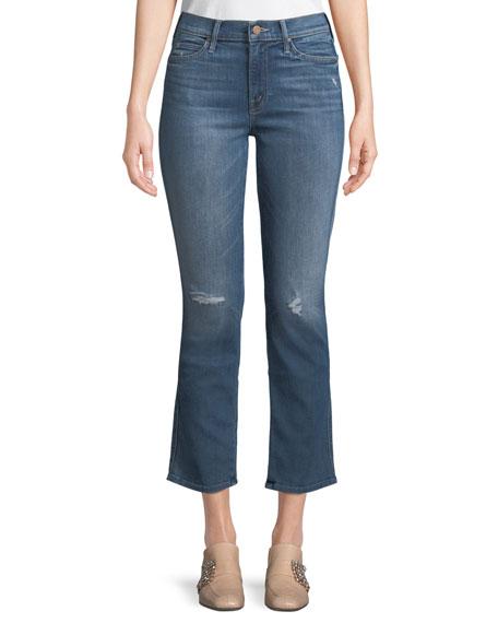 Rascal Flared-Leg Ankle Jeans
