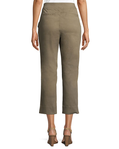 slim-straight chino pants