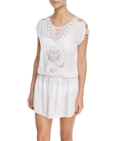 PilyQ Camila Lace Swim Coverup