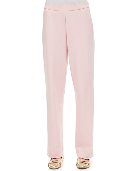 Cotton Interlock Pants, Plus Size