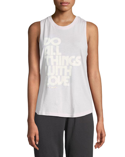 Do All Things With Love Tank