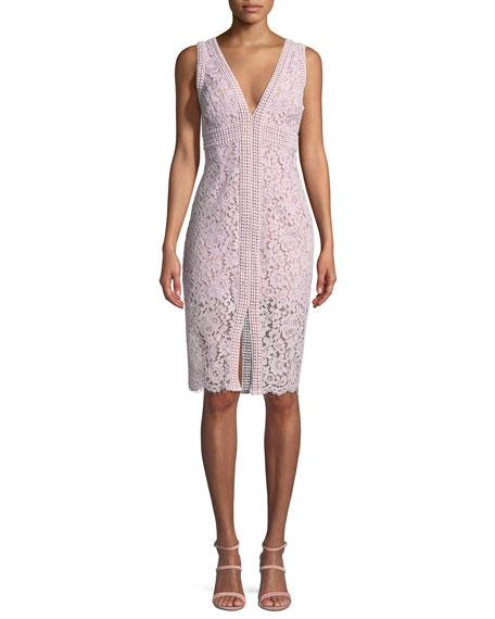 Morgan Sleeveless Lace Dress