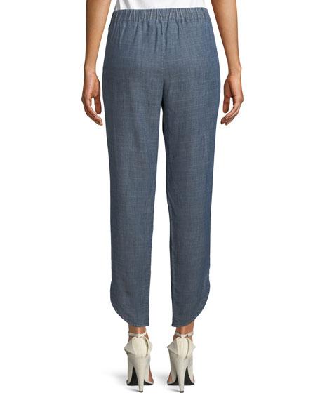 Fulton Pull-On Pleated Pants