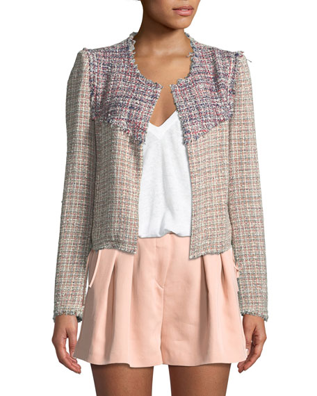 Walefa Multicolor Tweed Jacket