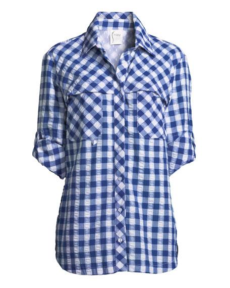 Check Cotton Fishing Shirt