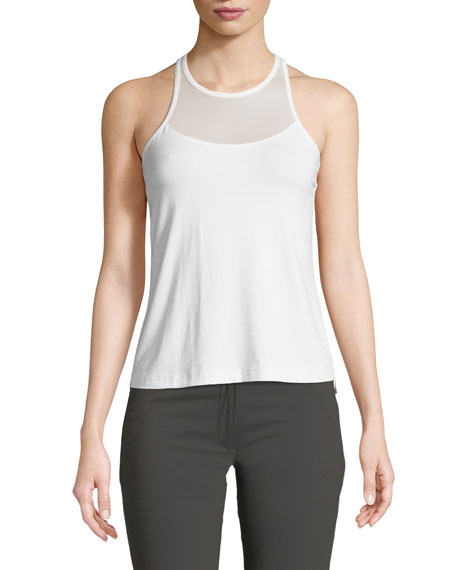 Adele Mesh-Trim Cut-In Tank