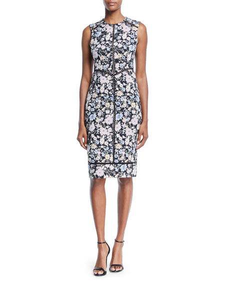 Nanette Lepore Center Stage Sleeveless Shift Dress